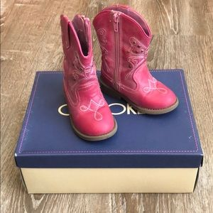 Cherokee Darcy Pink Boots